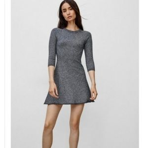 ARITZIA Sunday Best Tolle Dress Gray Marl Dress.